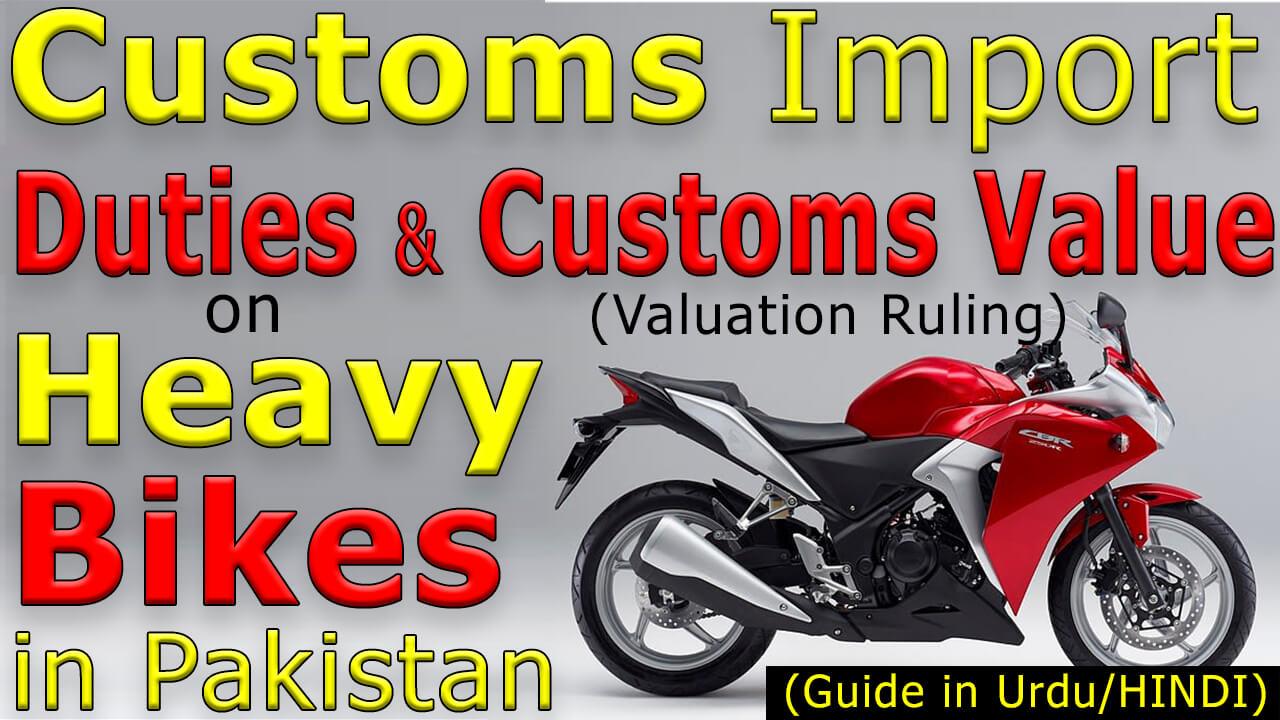 Import-Custom-Duty-on-Heavy-Bikes-in-Pakistan