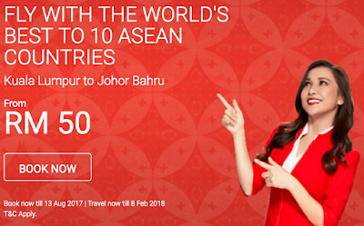 AirAsia Flight Ticket Discount Promo Price Offer