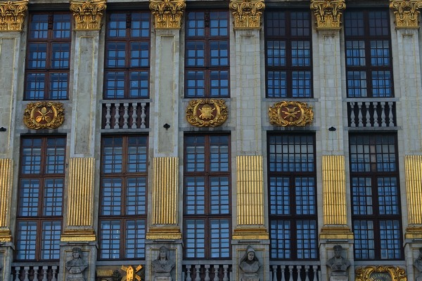 bruxelles grand place façade