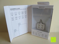 aufklappen: LIHAO Iblazr LED Blitz Mini Flash für Smartphone und Kamera 4 Leds (Weiß)
