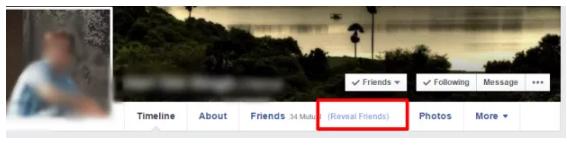 How to See Hidden Friends In Facebook