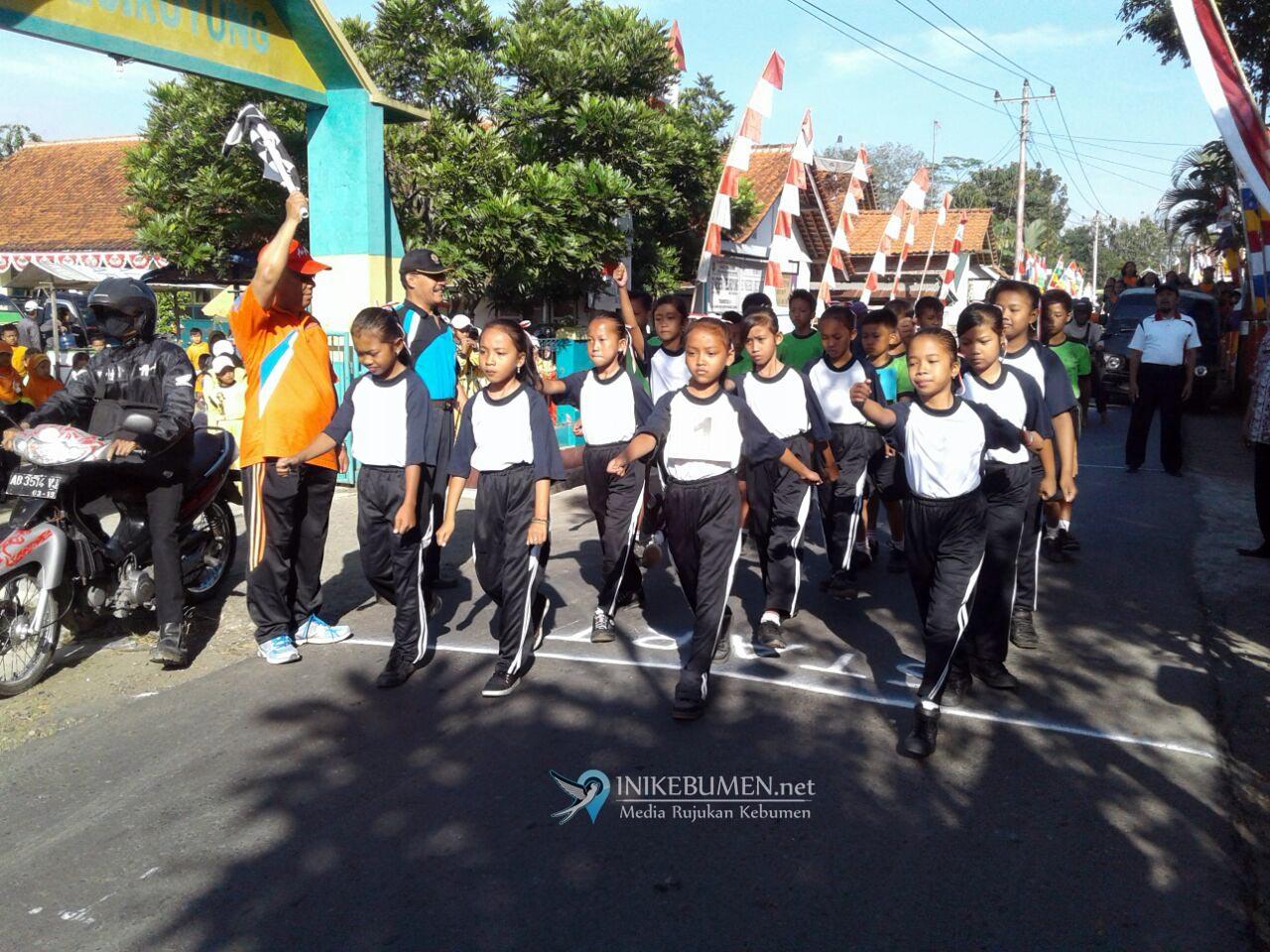 84 Regu Ikuti Lomba Gerak Jalan Tingkat Kecamatan Sempor