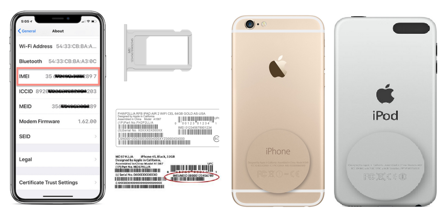 How to Find iPhone serial number, IMEI, ICCID, or MEID | Miimal