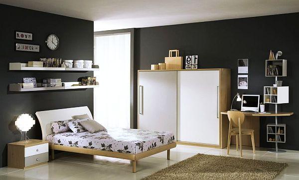 غرفة نوم اطفال لون اسود