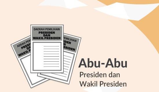 Warna Surat Suara Presiden dan Wakil Presiden