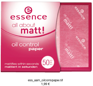 Essence All About Matt! - oil control paper