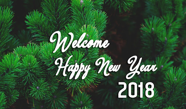 Welcome 2018 New Year Images