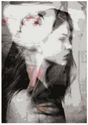 chicas-retratos-mixta-sobre-tela