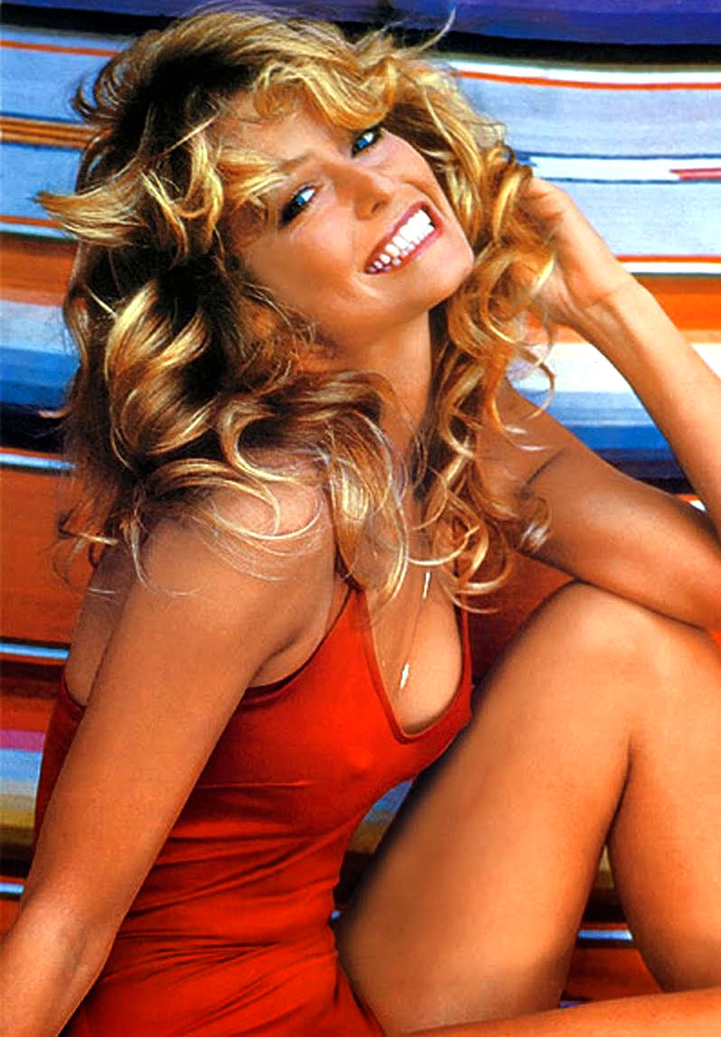 8f44e630625075 Farah Fawcett was probably most famous for her hairstyle, which was known  as the