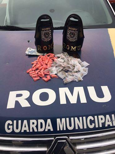 ROMU Jandira - Traficante é baleado durante flagrante de tráfico de drogas