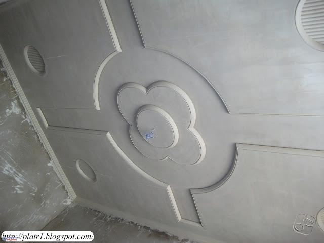 ديكورات الجبس   décorations en plâtre