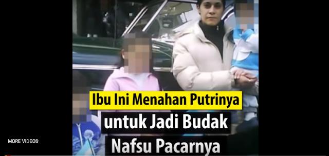Gadis ini Ditahan Ibunya, Dijadikan Pemŭas Pacarnya, Dia Nurut Karena Dibujuk Seperti ini