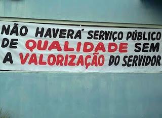 Servidores iniciam paralisação em São Vicente do Seridó