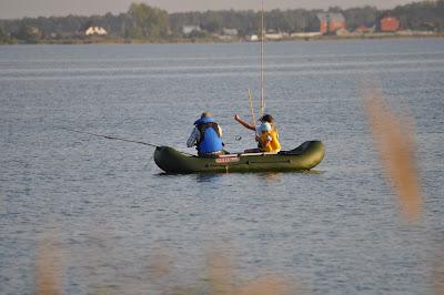 Рыбалка на Малом Кисегаче.  Лодка Соло-290
