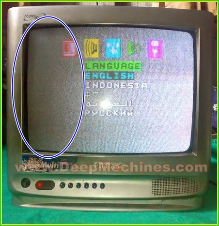 Kerusakan Stanby/Susah Hidup - TV PANASONIC 14-Inch (TC-14S33)