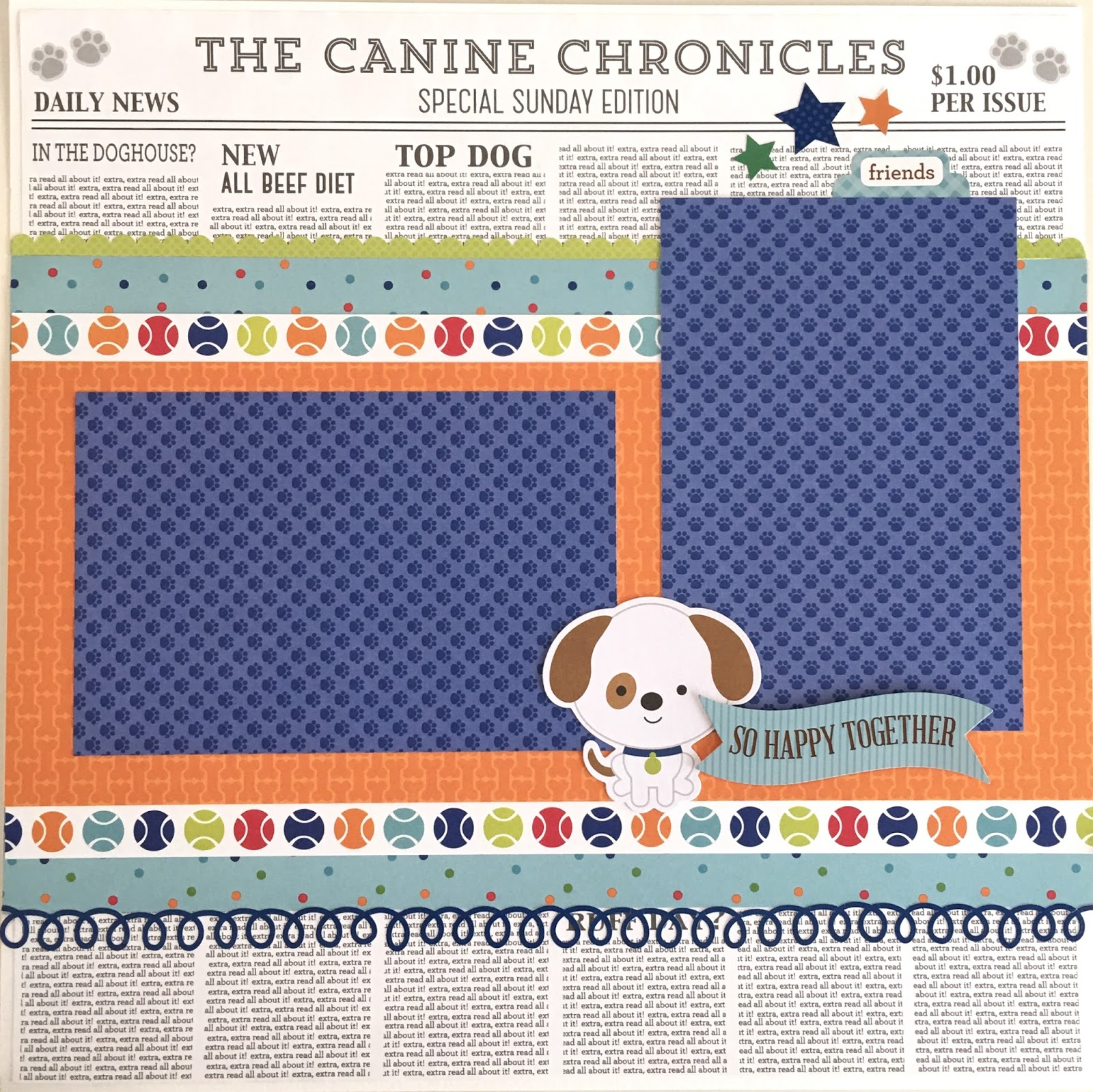 How to make scrapbook about yourself - This Is A Pre Cut Do It Yourself Scrapbook Kit That Includes All Of The Materials To Make Six 12x12 Dog Themed Scrapbook Pages Also Available Pre Made