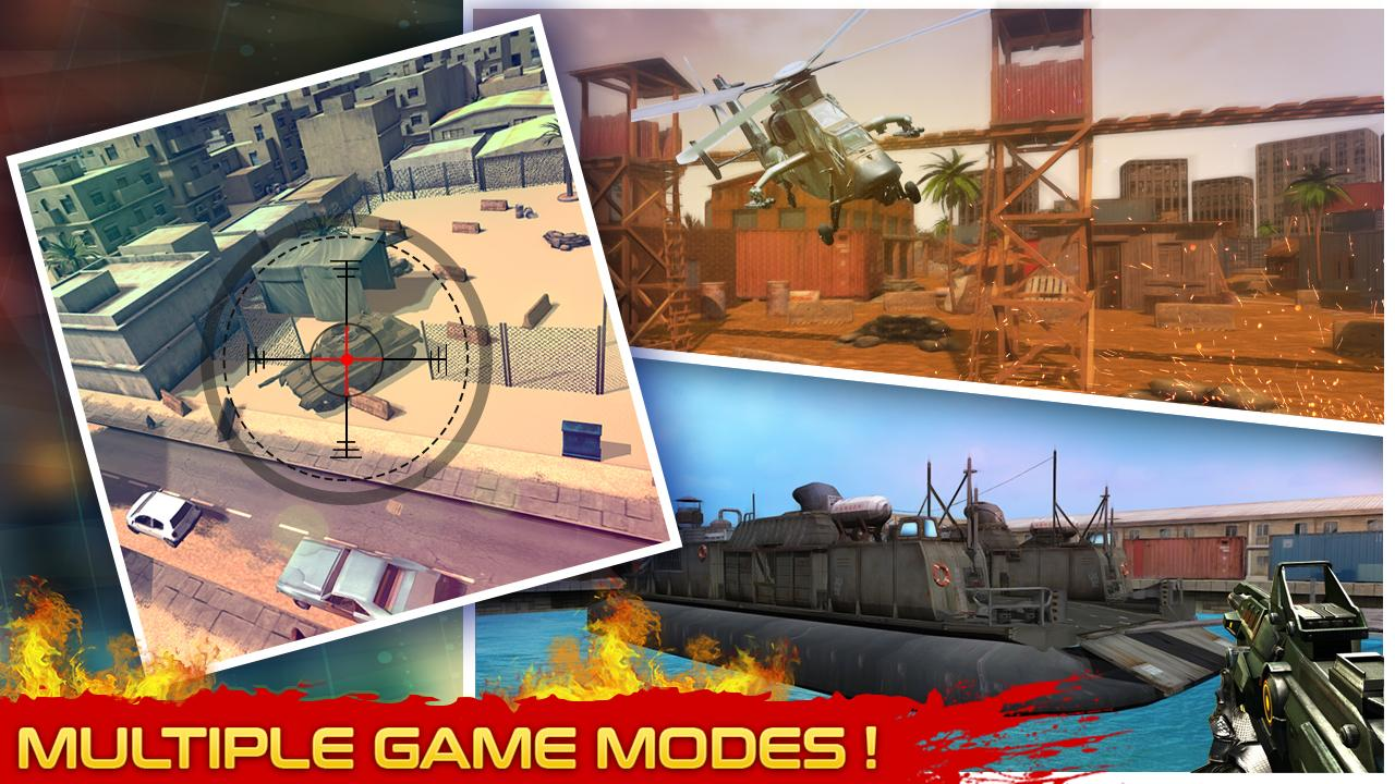 Assault Fury Mission Combat MOD APK