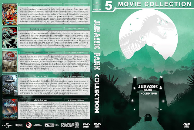 Jurassic Park Collection DVD Cover