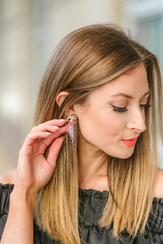 express parrot earrings