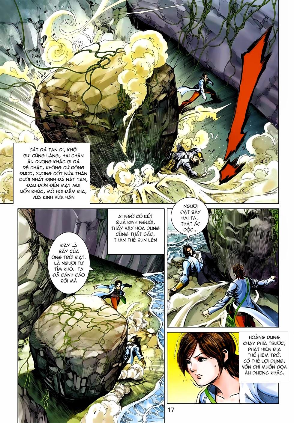 Anh Hùng Xạ Điêu anh hùng xạ đêu chap 54: kiếp hậu dư sinh thiến nữ kỳ mưu trang 17