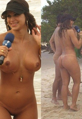 Remarkable, this Danielle souza nude beach