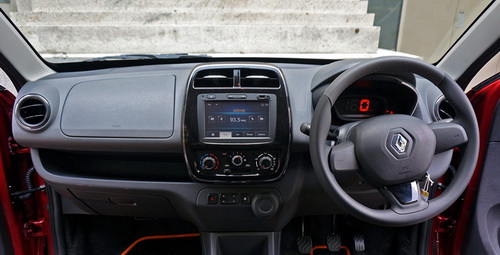 Interior Renault Kwid Indonesia