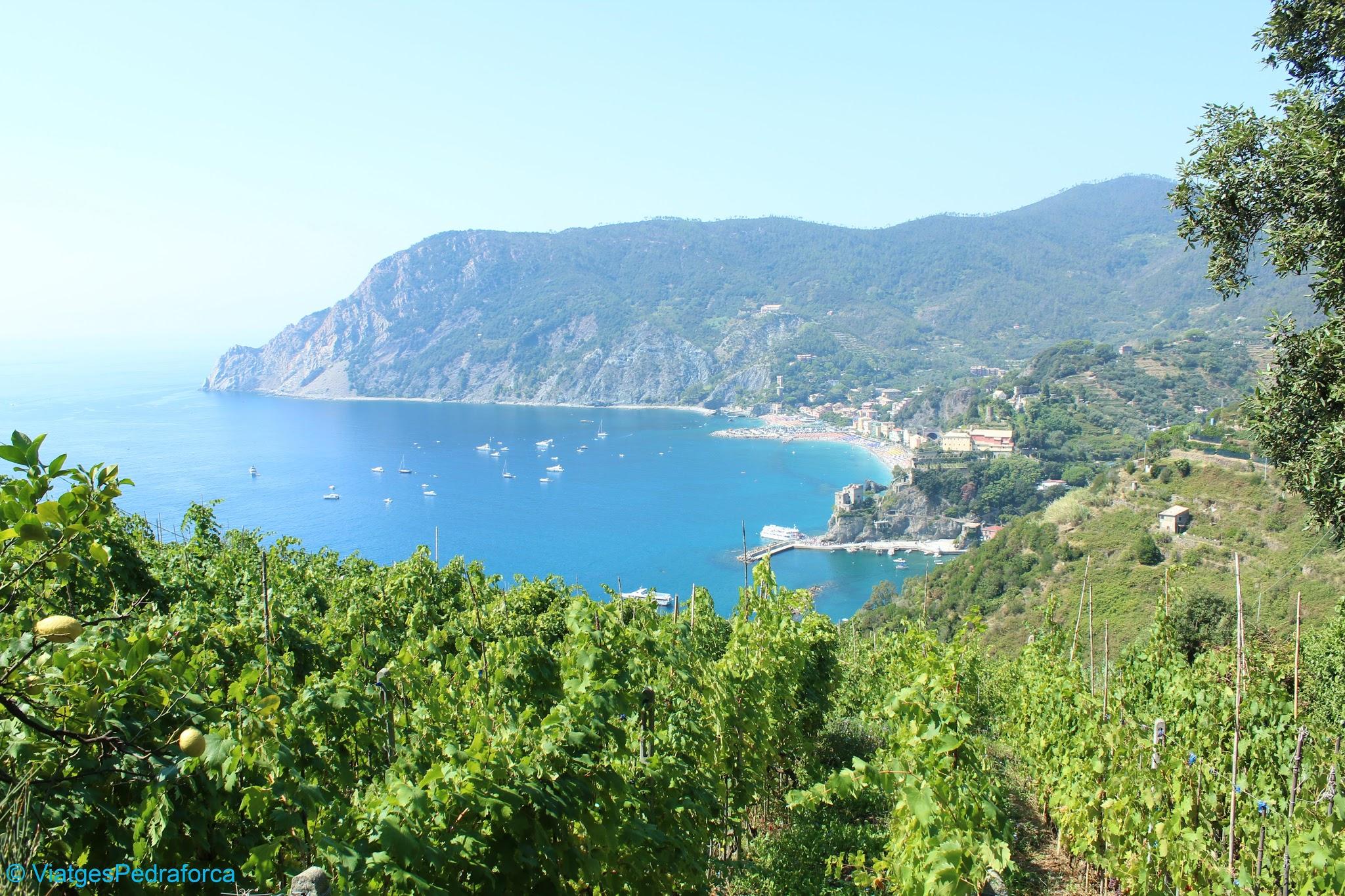 Monterosso, Cinque Terre, Sentiero Azurro, Unesco World Heritage, Patrimoni de la Humanitat, Italia