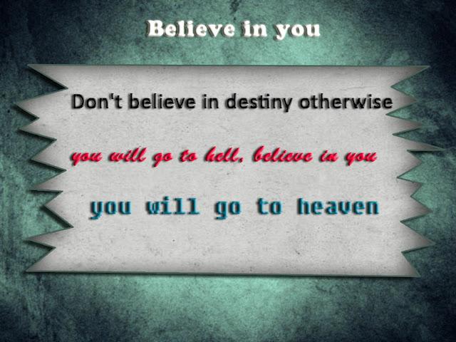 Believe in yourself inspiring