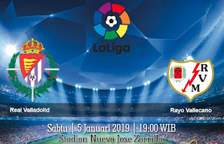 Prediksi Real Valladolid vs Rayo Vallecano 5 Januari 2019