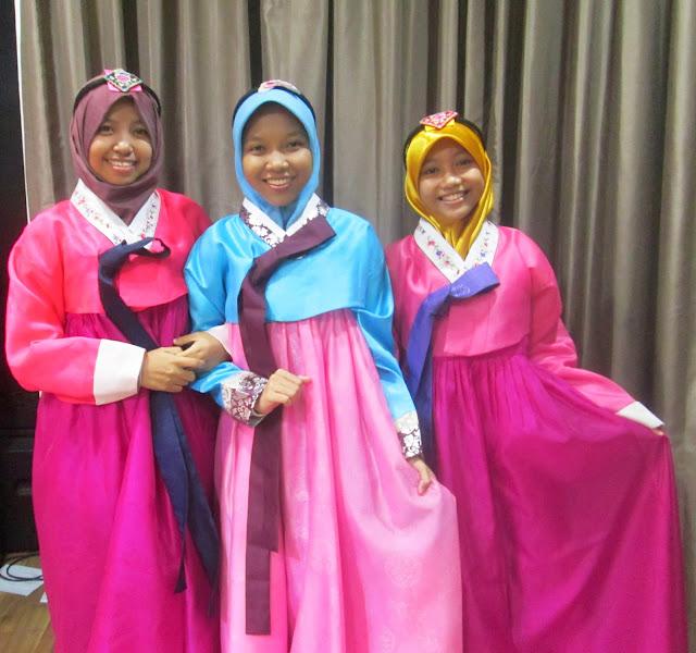 Acara pakai Hanbok gratis di Jakarta