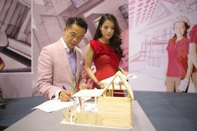 Kiến trúc sư nổi tiếng Quách Thái Công và nữ diễn viên Trương Ngọc Ánh