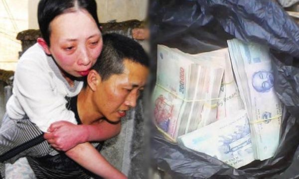 Chồng cõng vợ vào viện làm phẫu thuật rồi biệt tích khiến ai cũng phẫn nộ, đến khi người ta đang góp tiền cho vợ đóng viện phí thì chồng xuất hiện làm điều khó tin này