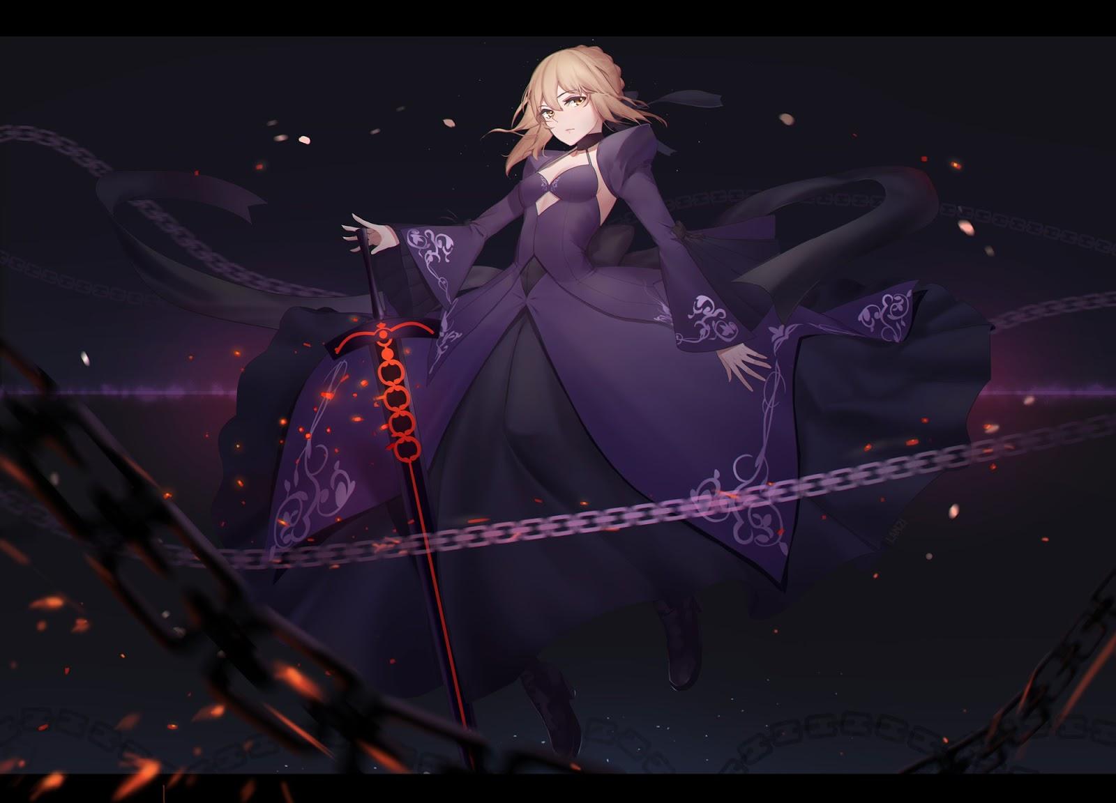 Fate AowVN%2B%252828%2529 - [ Hình Nền ] Anime Fate/GrandOrder tuyệt đẹp Full HD | Wallpaper
