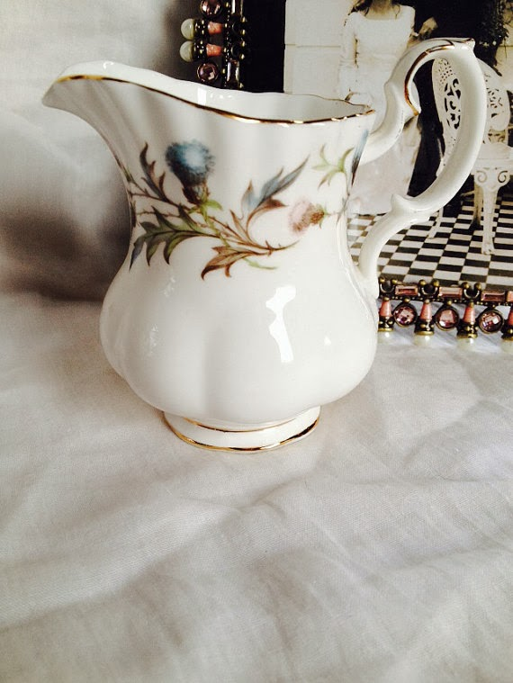 Thistle Pattern vintage Royal Albert Milk Jug