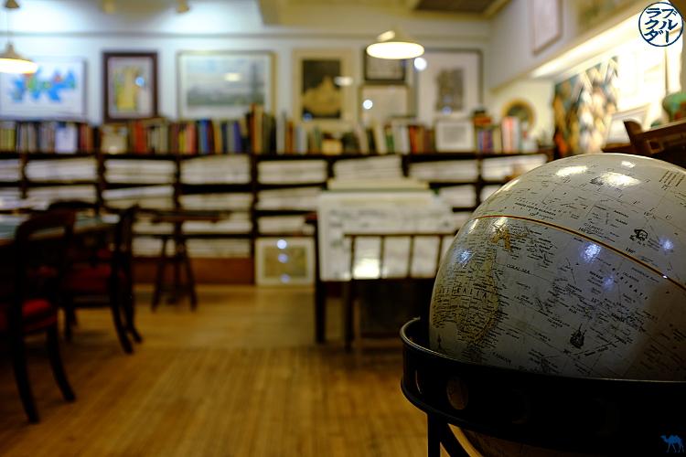 Intérieur de la Librairie Argosy à New York - Voyage à New York - Le Chameau Bleu