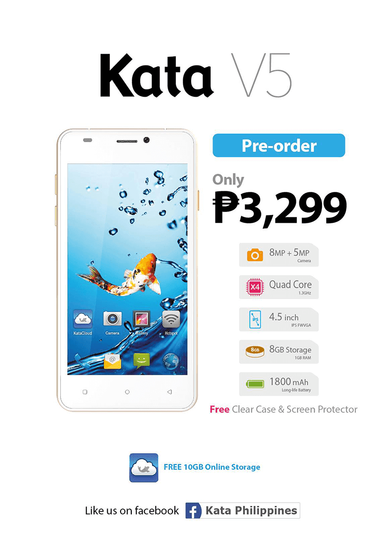 Kata V5 Announced, Now On Pre Order For PHP 3299