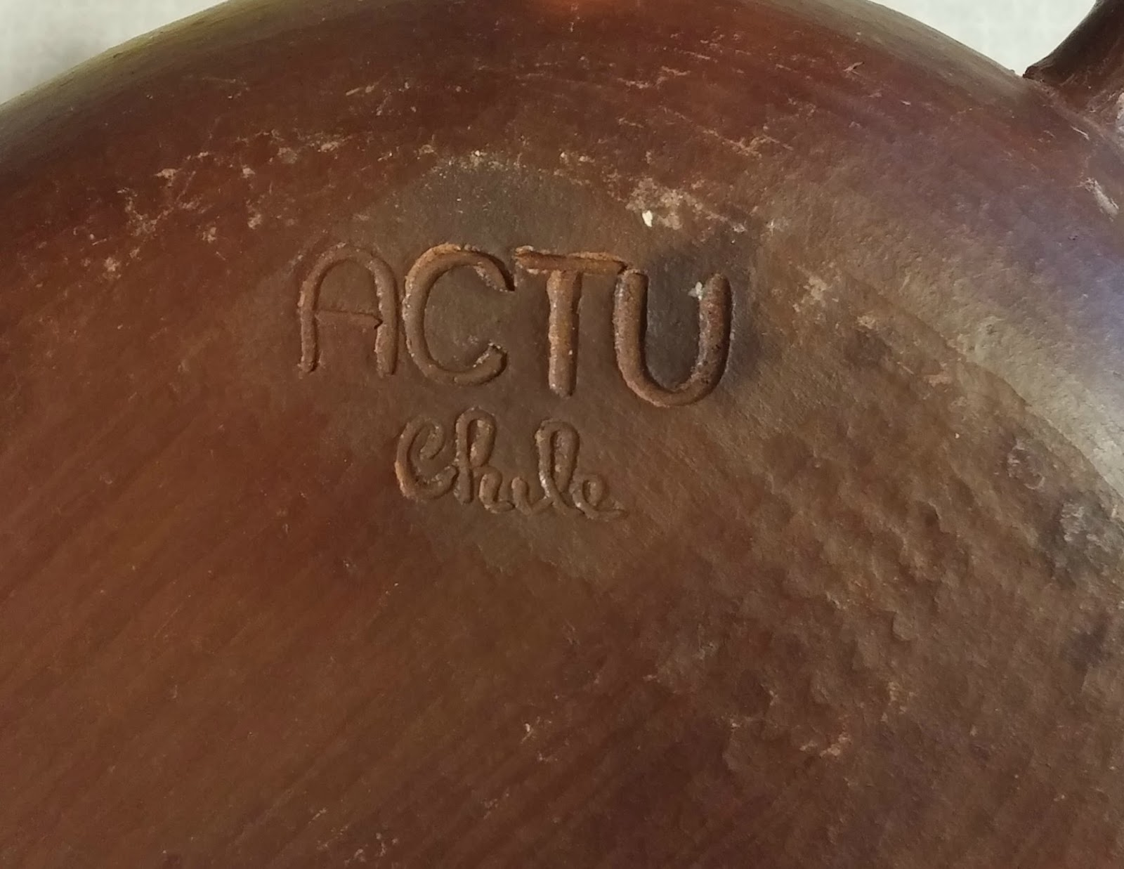 vintage pottery made in Chile
