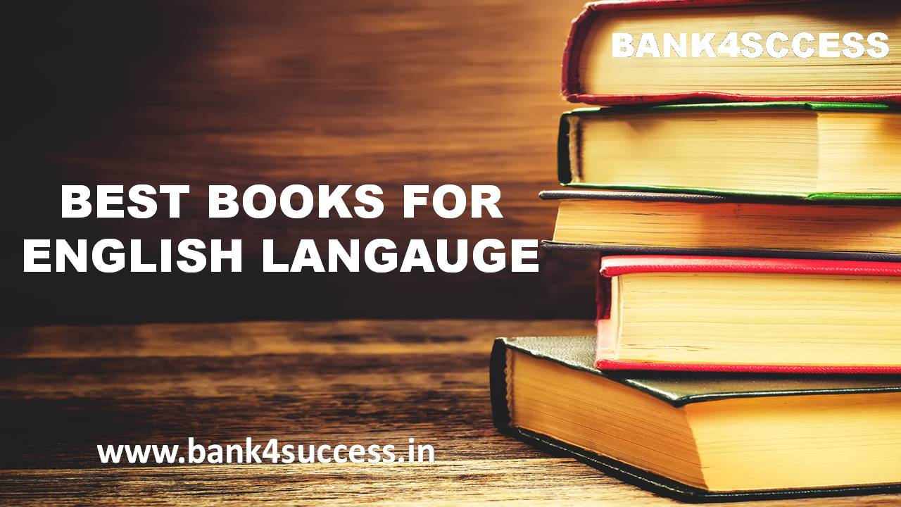 Best English Language Preparation Book for Bank Exams