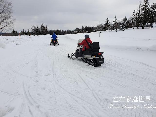 當間高原 雪上摩托車