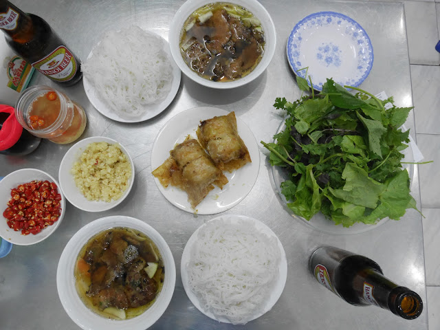 Bun Cha, Obama com bo set, Hanoi old quarter