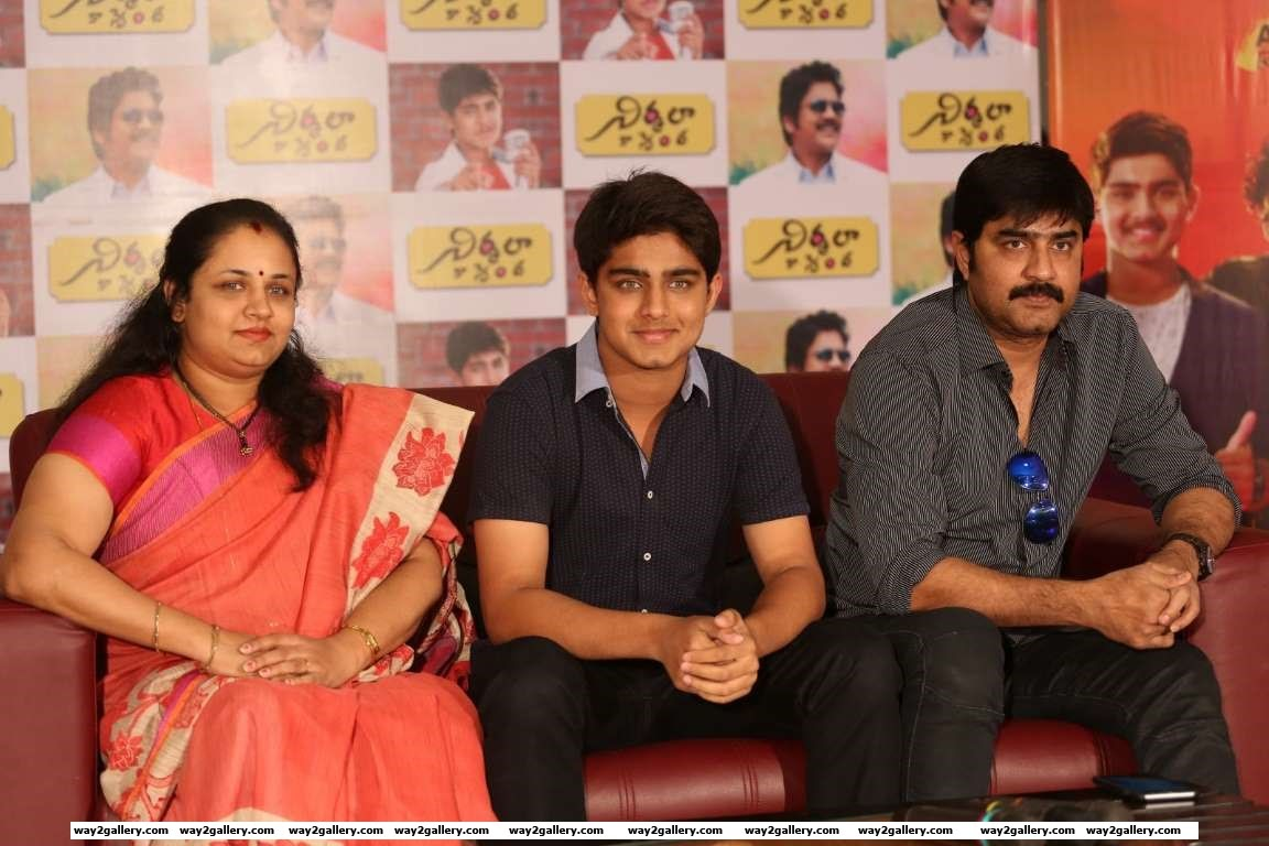 Sivaranjini Roshan Meka and Meka Srikanth were present at the press meet of Nirmala Convent
