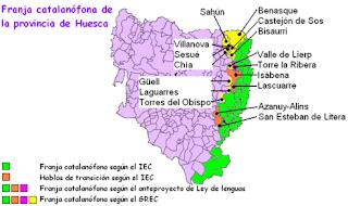 franja, catalán, català, chapurriau, Huesca
