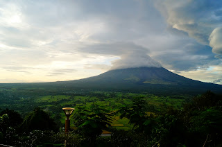Mayon Volcano afternoon