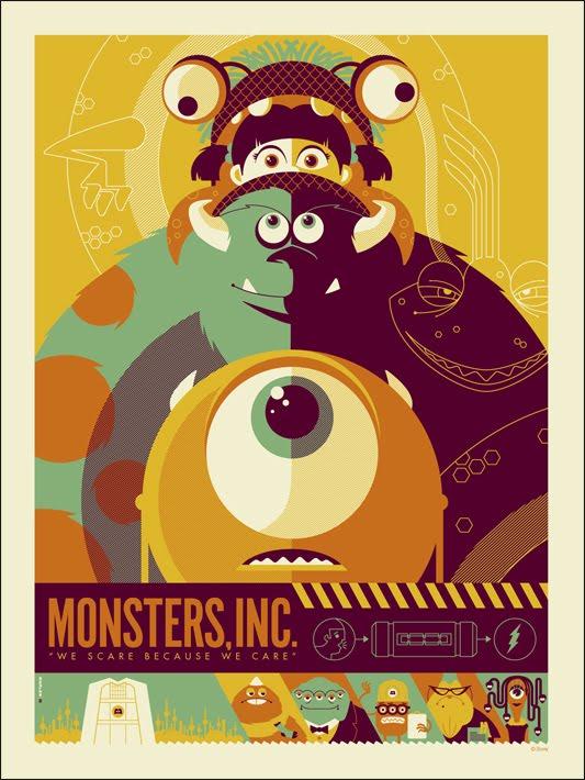 Mondo Posters Para Monstruos Sa Y Parque Jurásico Las