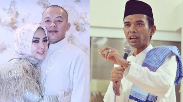 Ustad Somad Bacakan Do'a, Mendiang Kakak Syahrini Meneteskan Air Mata