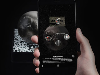 You Probably Can't Visit the Moon, But This AR Moon Experience is Pretty Dang Close