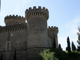 Castle turrets at tivoli