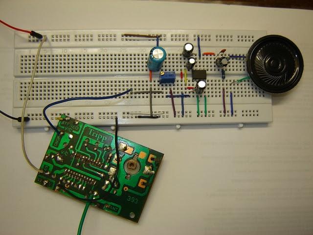 Bistable Ultrasonic Receiver Circuit