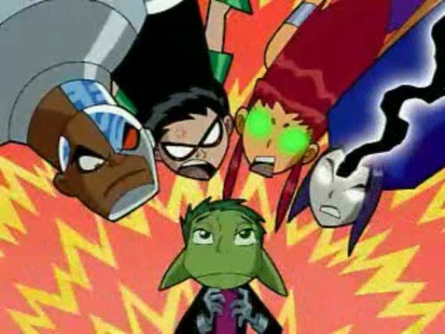 This Teen titans the lost episode
