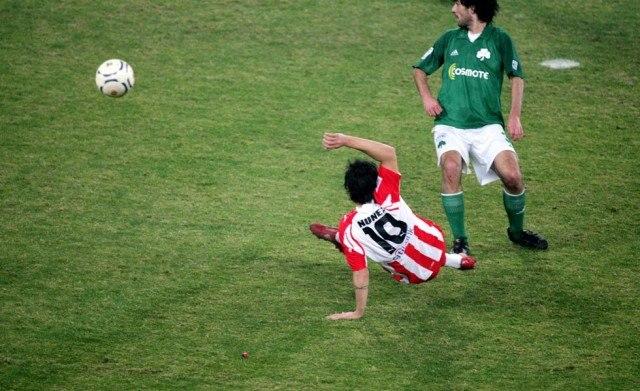 παοκ ολυμπιακοσ γκολ: ερυθρολευκο μετεριζι: ΣΑΝ ΣΗΜΕΡΑ ΤΟ 2008